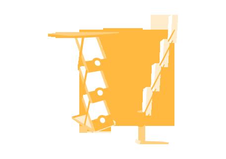 Ikon Broschyrställ