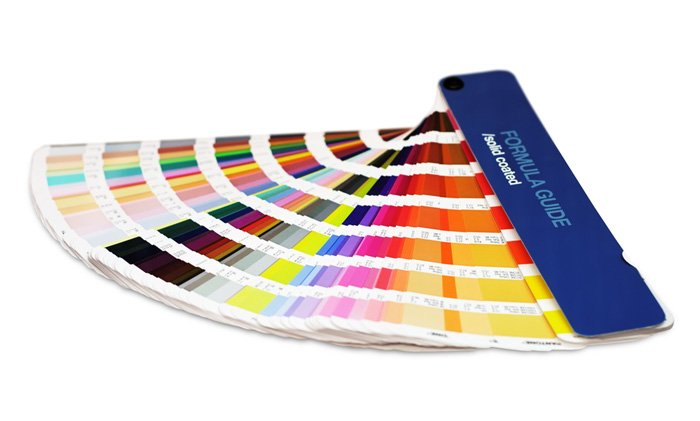 Pantone färgguide