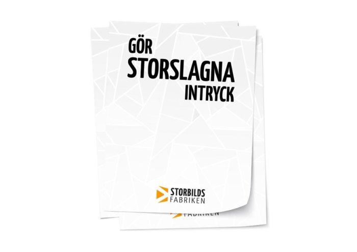 Affischer från Storbildsfabriken