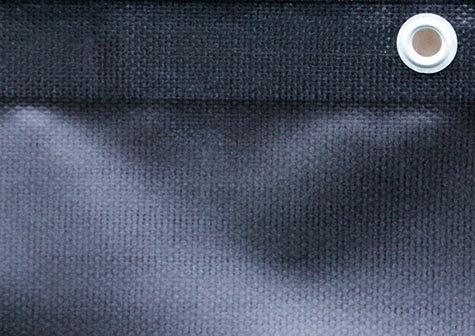Banderoll i PVC med öljetter från Storbildsfabriken