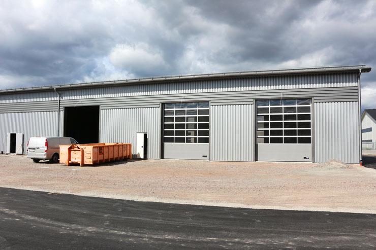 Nya byggnaden i Torvinge