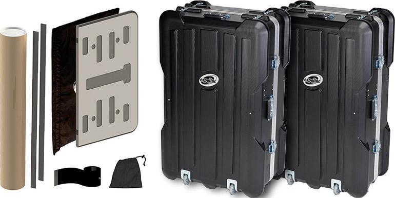 Podiumbord Case Premium Bord Paket